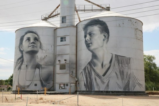 silo art, tiny home movement