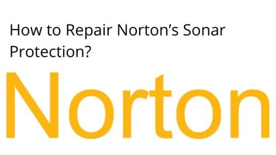 Enter How to repair Norton's sonar protection?content title here...