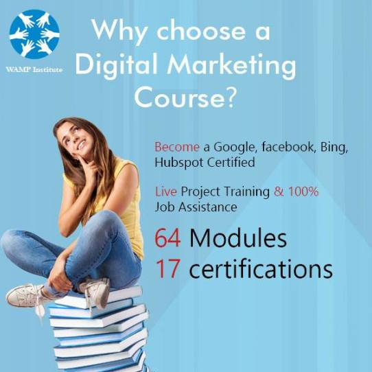 Digital Marketing Course from Wamp Institute