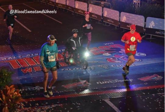 Dopey  Challenge Run Disney Mike Greer  5km finish