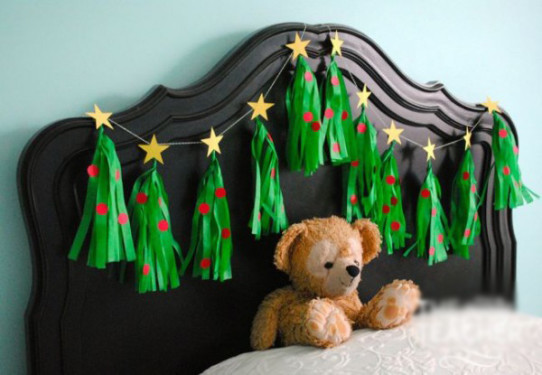 How to make different tassels for Christmas decoration?
