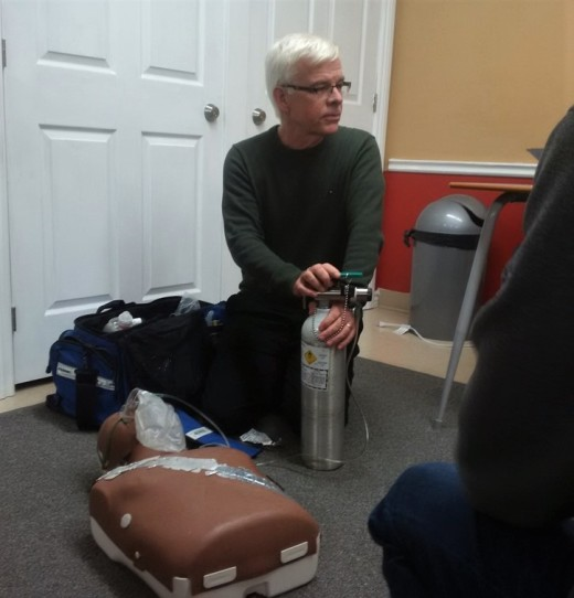 John  training oxygen First Aid St John Ambulance
