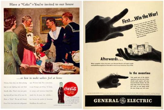 Coca Cola, GE, advertisement, crisis