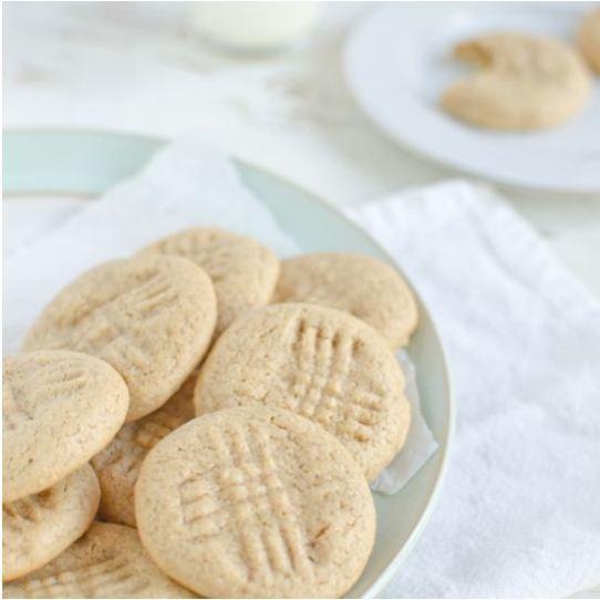 coconut flour peanut butter cookies, peanut butter cookies, coconut flour, cookies, paleo recipes