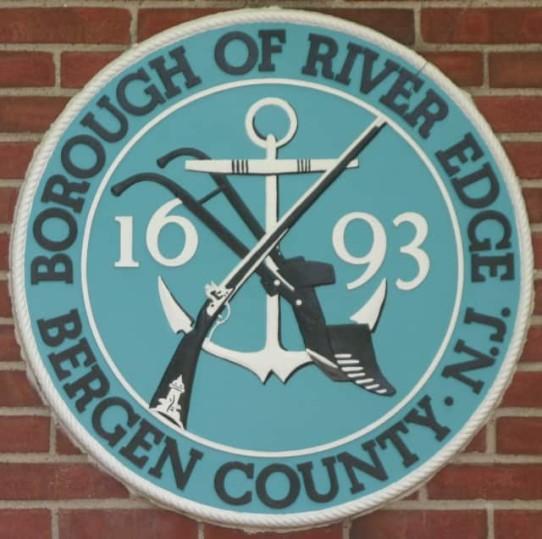 A River Edge Short: River Edge's Seal - Musket, Anchor & Plow
