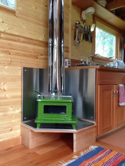 Woodstove, tiny home, tiny home movement