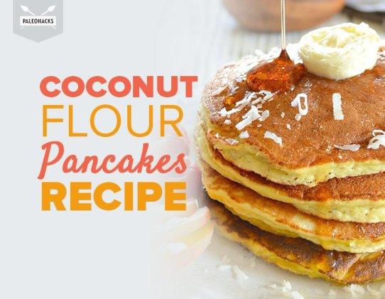 coconut flour pancakes, paleo recipe, coconut flour, pancakes