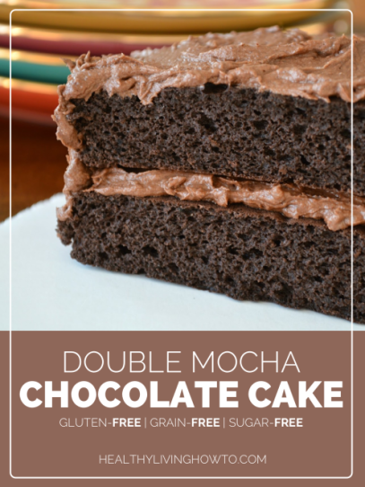 double mocha cake, dessert, paleo recipes