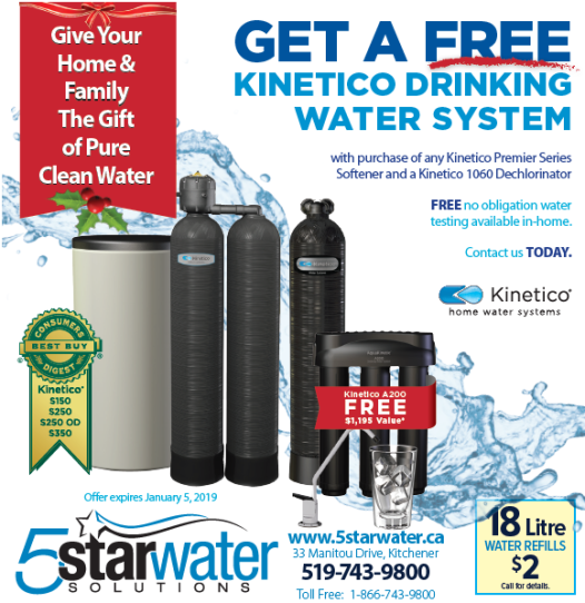 5 Star Water Solutions, December Promotion