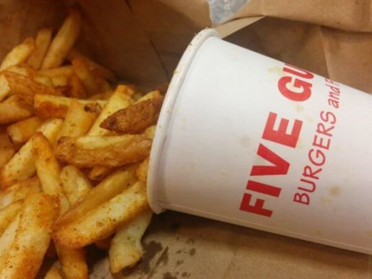 Where Two Guys was is Now Five Guys 50 Years Later