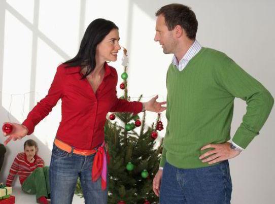 separation, Christmas, divorce, festive, family