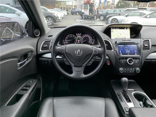 Console 2017 Acura RDX