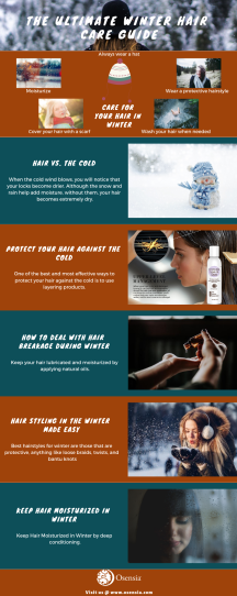 Ultimate Winter Hair Care Guide Infographics