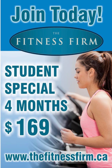 Fitness Firm Burlington, Student Special