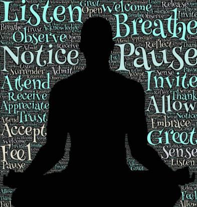 yoga, meditation, mindfulness, breathe, relax - headache relief
