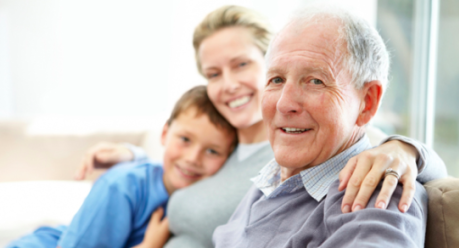 retire at home, family, in-home, caregiver