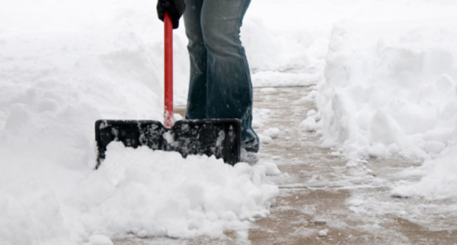 Snow, Shoveling, Snowshovel