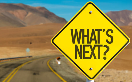 what's next, the road,