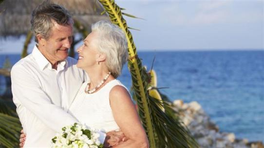 marriage, remarriage, adult marriage, aging, step family