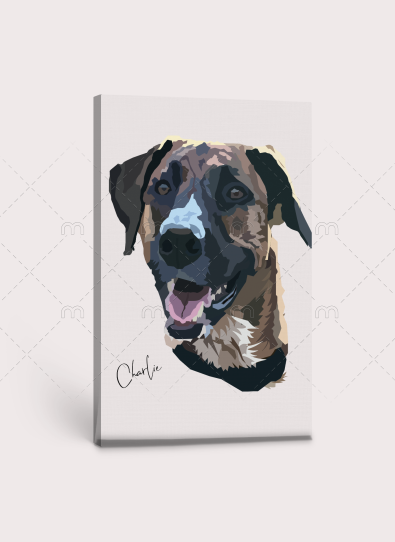Digital Dog Art