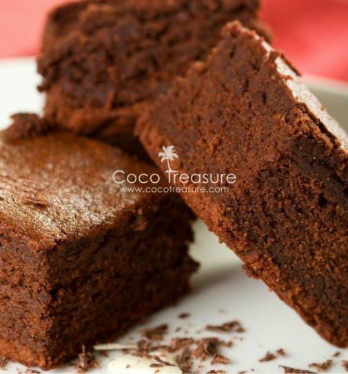 gluten-free coconut flour brownies, gluten-free, coconut flour brownies, brownies, coconut flour, dessert