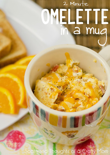 17 Mug Breakfast Recipes to Give Your Day a Boost