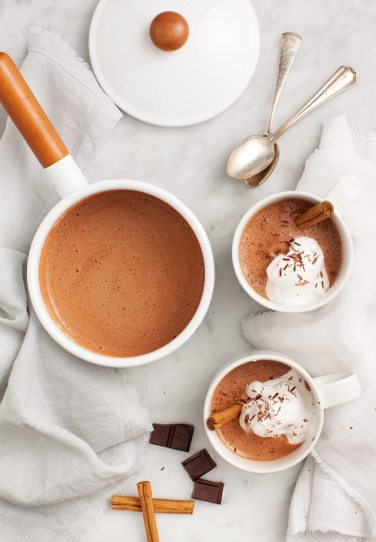 Healthy TIps Klusster, Healthy Hot Chocolate