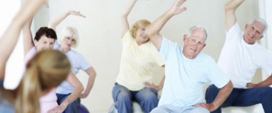 retire at home, support, exercise