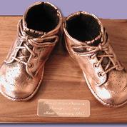 #products #bronzebabyshoes #weepiggies