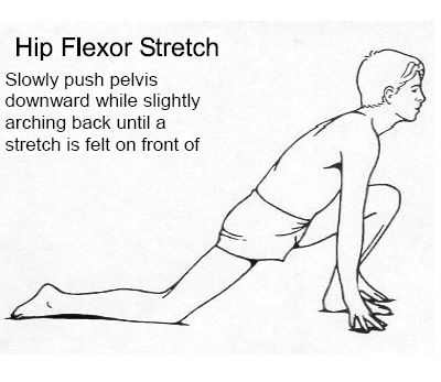 Back pain exercise in between Chiropractor appointments.