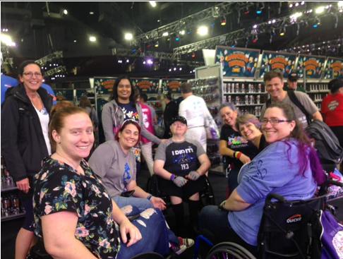 adaptive sport group  Mike Greer wheelchair athlete