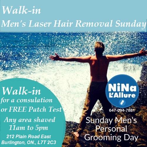 Nina L'Allure, Burlington, Laser Hair Removal