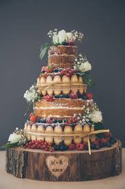 Naked, Cake, Wedding, Scrummy