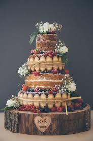 Naked, Cake, Wedding, Scrummy