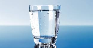 Recommended intake of water