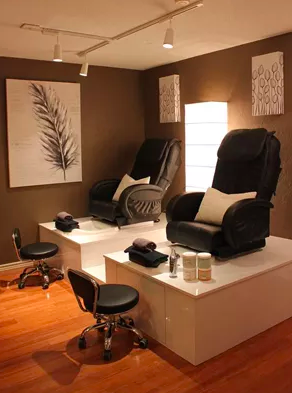 waters edge, salon, spa