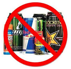 energy drinks, soda,