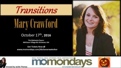 Momondays Kitchener-Waterloo, October 17th