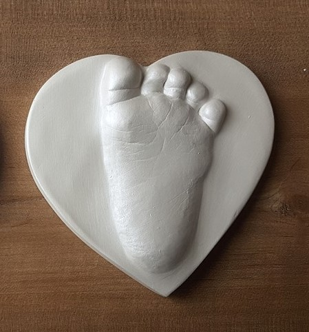 #raisedimpression #footprint #memory #keepsake