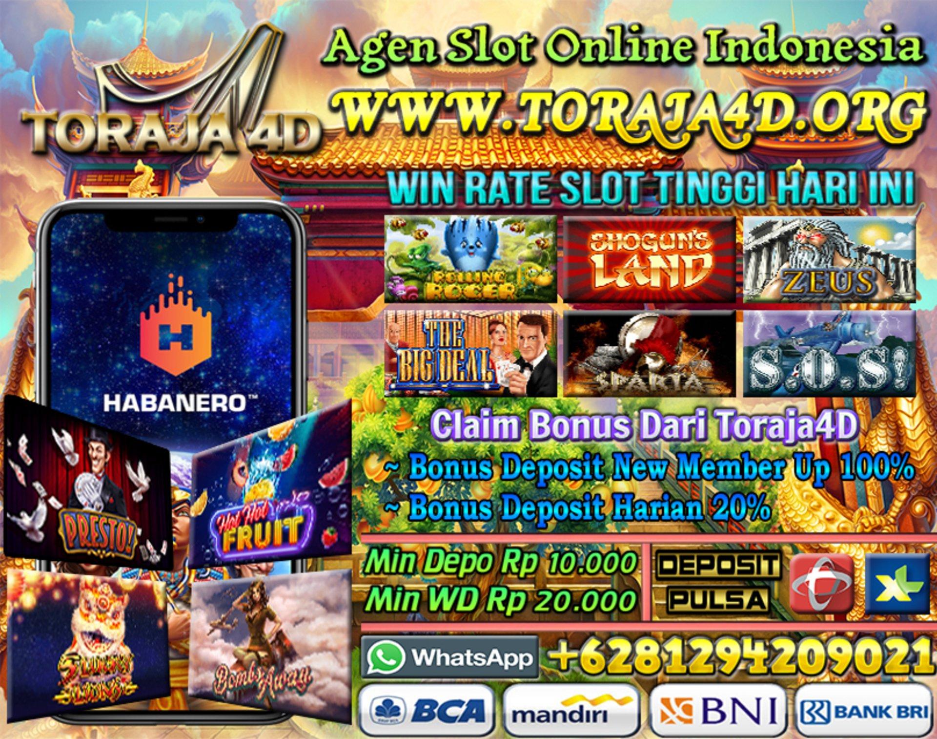Toraja4d Agen Slot Online Indonesia Tangkas Online Slot Games Bacarrat Toraja4d