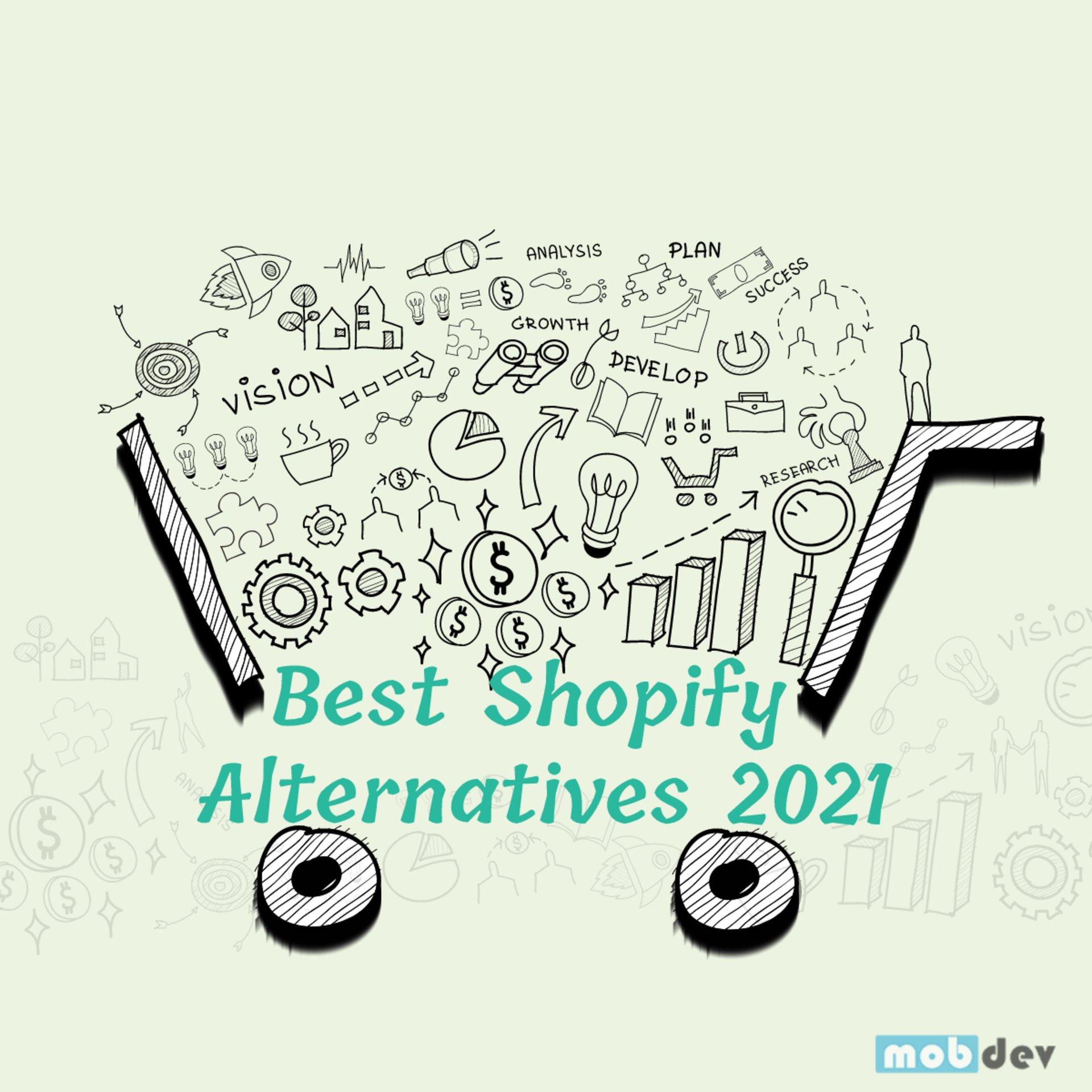 Best Shopify Alternatives in 2021 For E-commerce Mobile App Development