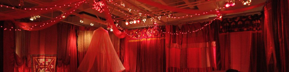 Red Tent Celebrating Women