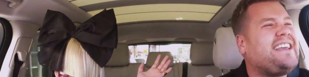 Carpool Karoke: Sia & James Corden