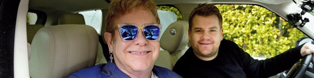 Carpool Karoke: Elton John & James Corden