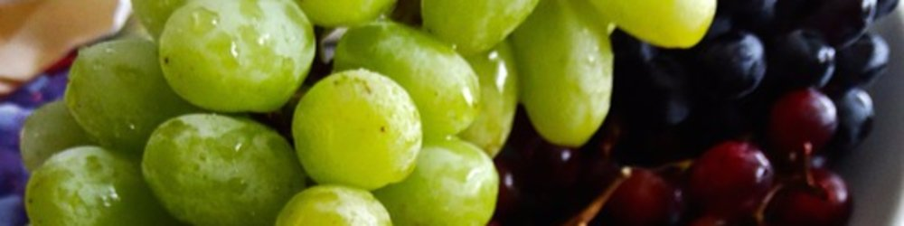 Grapes: Colorful yet differently similar