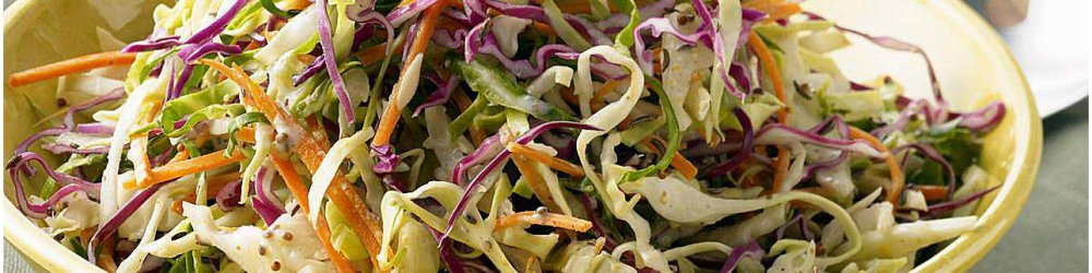 August harvests cabbage, onion, carrots and that means Coleslaw!