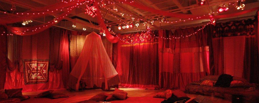 Red Tent Celebrating Women