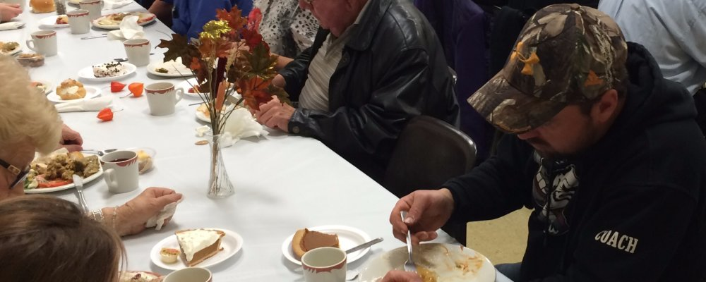 Making & Being Community thru a Fall Community Supper