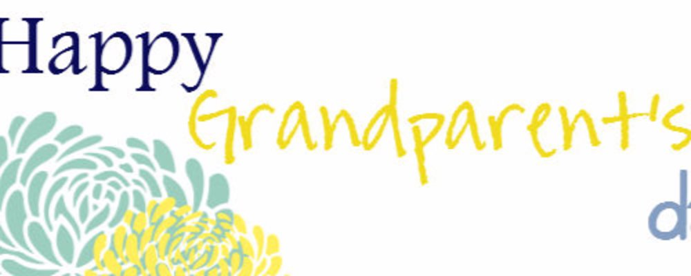 Many Ways to Celebrate Grandparents' Day