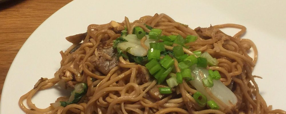 Malaysian Noodles - A Version of Wonton Mee